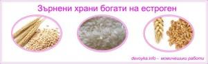 зърнени храни с естроген